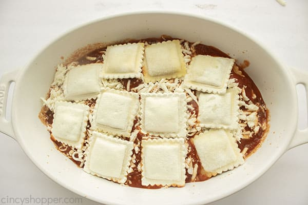 More frozen ravioli added