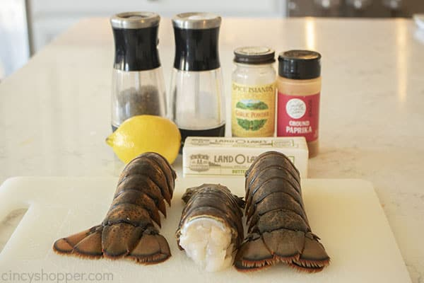 Ingredients for Best Lobster Tail