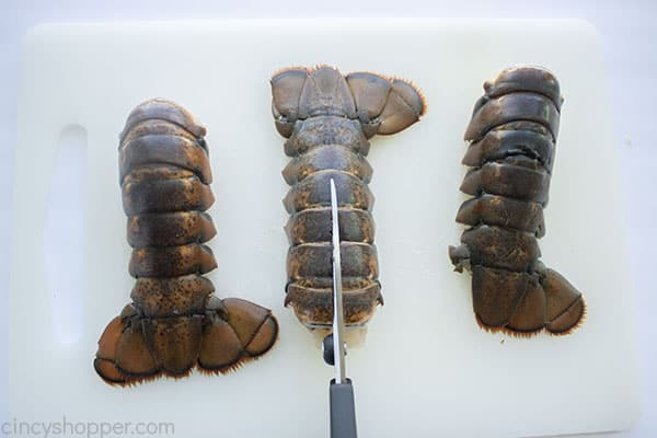 Preparing Lobster Tail