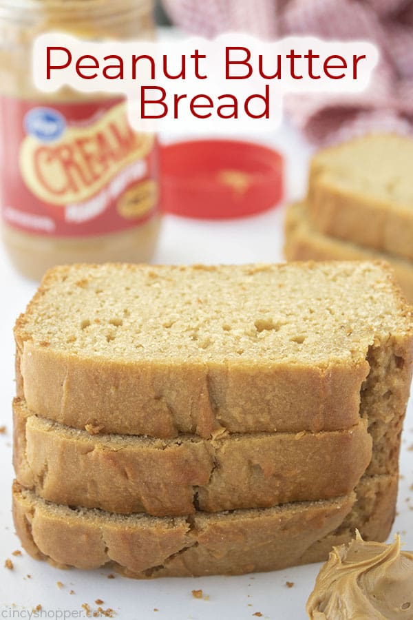Text on image Peanut Butter Bread