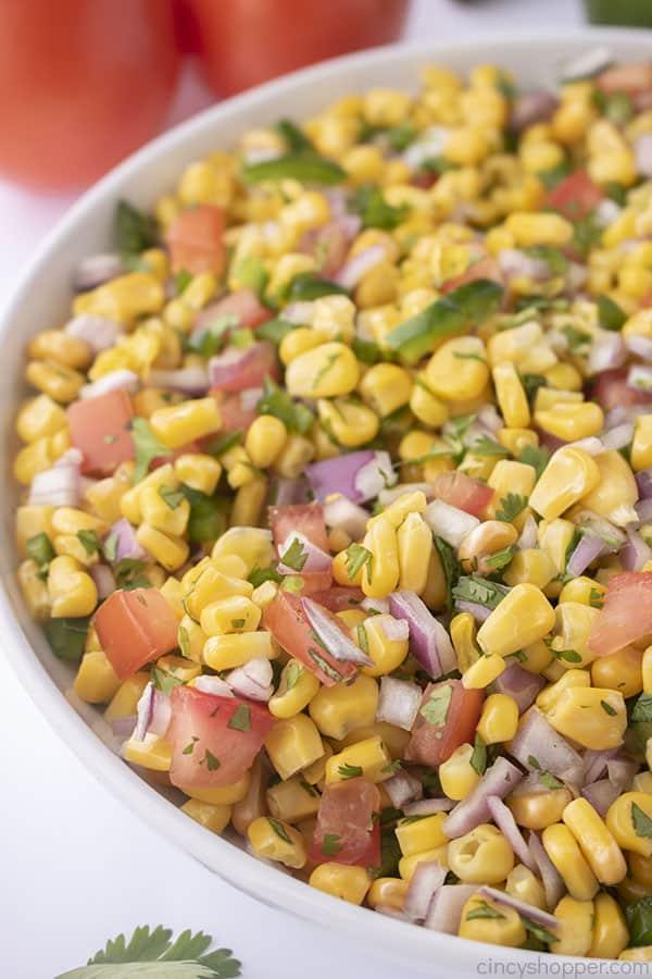 Homemade Corn Salsa like Chipotle