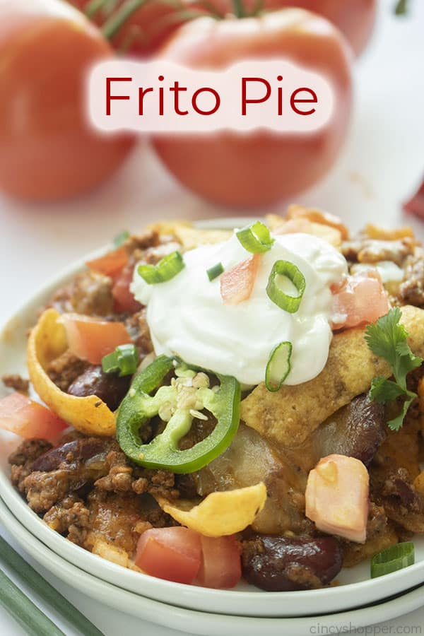 Text on image Frito Pie