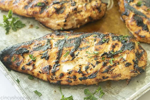 Grilled Chicken Breast with Ranch