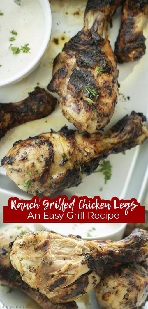 Long pin Ranch Grilled Chicken Legs An Easy Grill Recipe