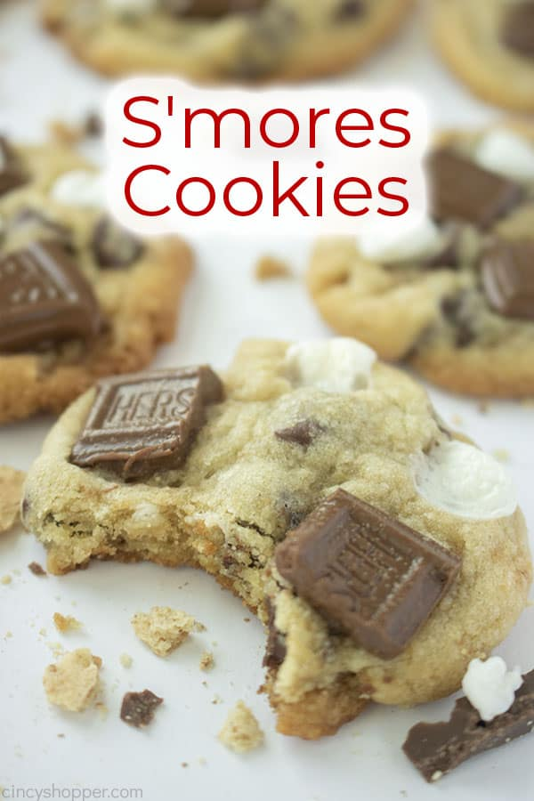 Text on image S'mores Cookies