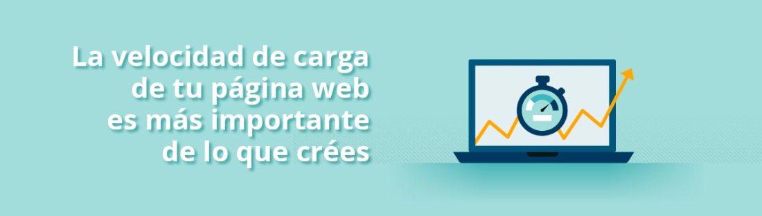 Velocidad de carga de página web