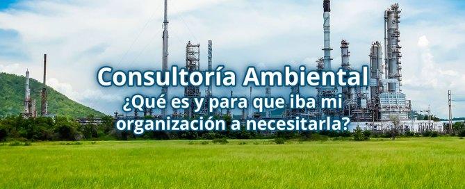 Consultoría Medioambiental