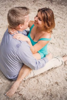 engagement on the beach
