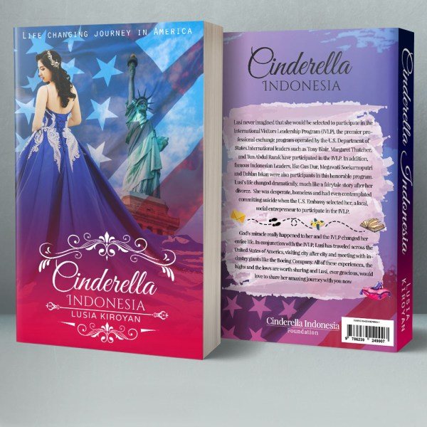 Cinderella Indonesia - Life Changing Journey in America Book Cover