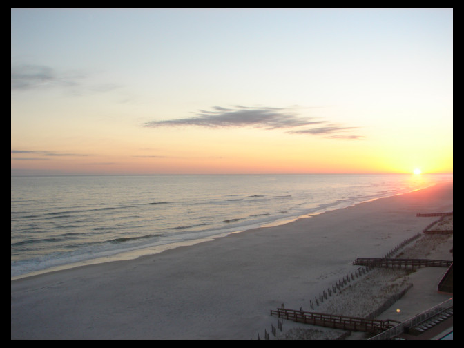 Gulf of Mexico sunset