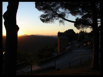 September 12, 2007 - Montalcino sunset