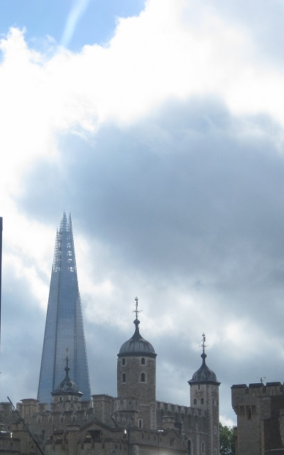 The Shard and Tower of London