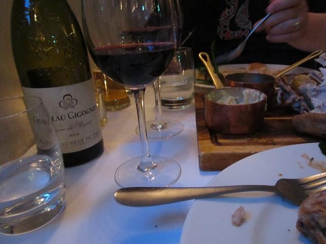 mmmm .... dinner was good!