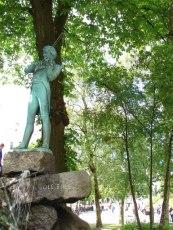 Ole Bull statue in Bergen