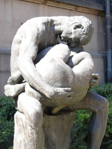 Spring 2006 - Gustav Vigeland sculpture, Oslo
