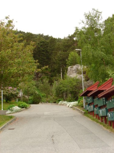 May 30, 2008 - Bønes, Norway, the side of Løvstakken