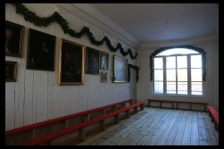 """""""The room where Norway's constitution was made in the spring of 1814; after restoration before 2014."""""""