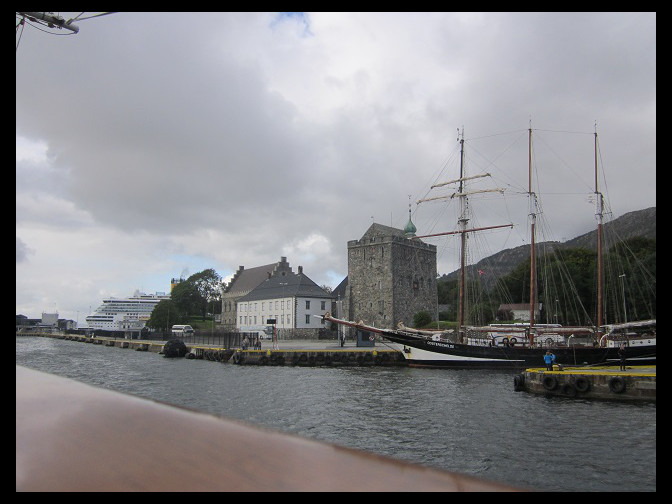 August 20, 2014 – leaving the Bergen Harbor