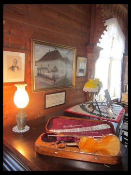 September 14, 2014 - inside Ole Bull's villa