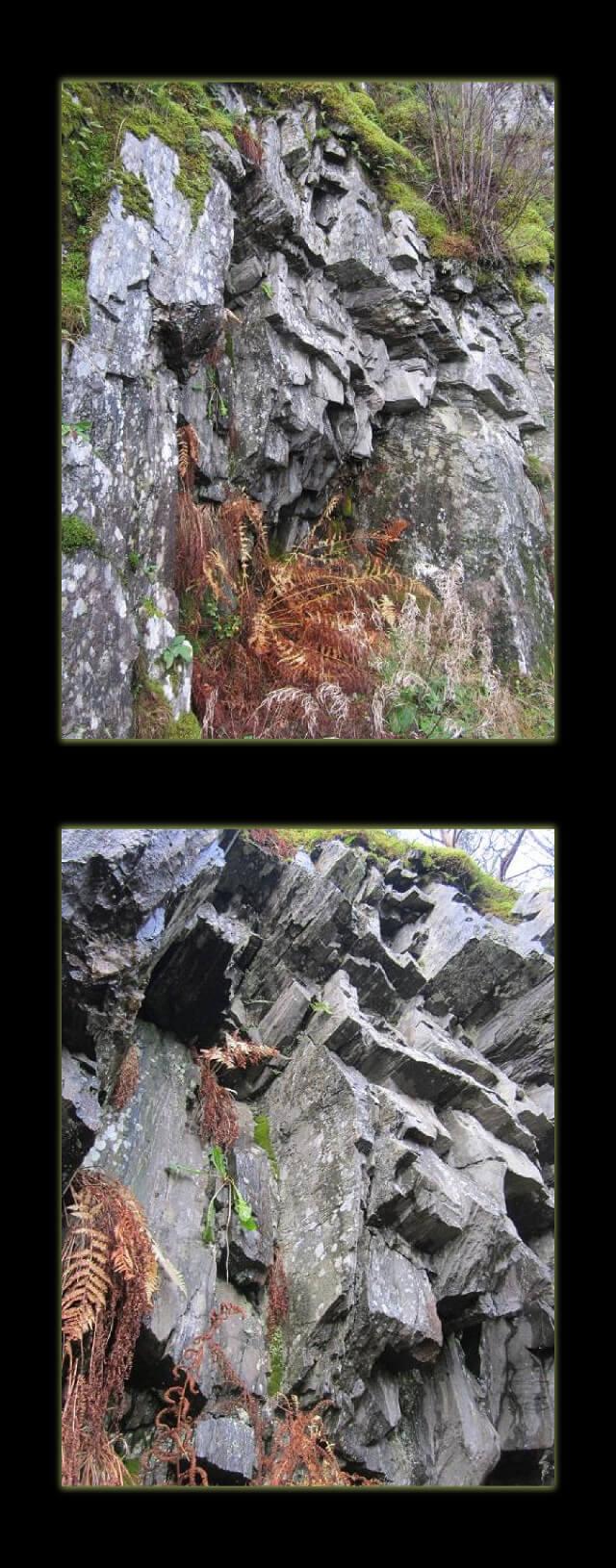 Wordless Wednesday - geometric rocks