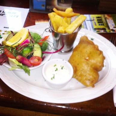 Fish & Chips à Temple Bar
