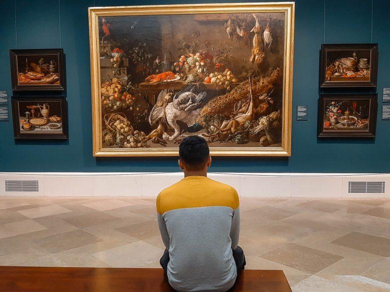 admirer une peinture