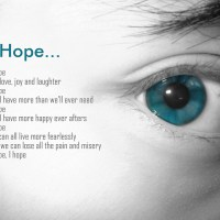 Hope is an Action Word