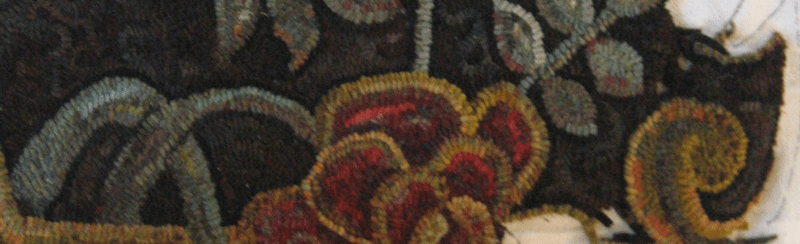 small section of room-sized rug