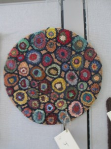 Hooked millefiori, cat's paw, hit and miss circles