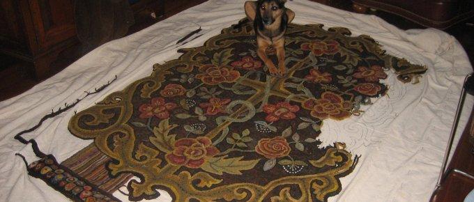 Progress made on room-sized rug