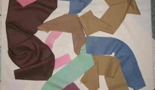 Dye Methods: Marbelizing Wool