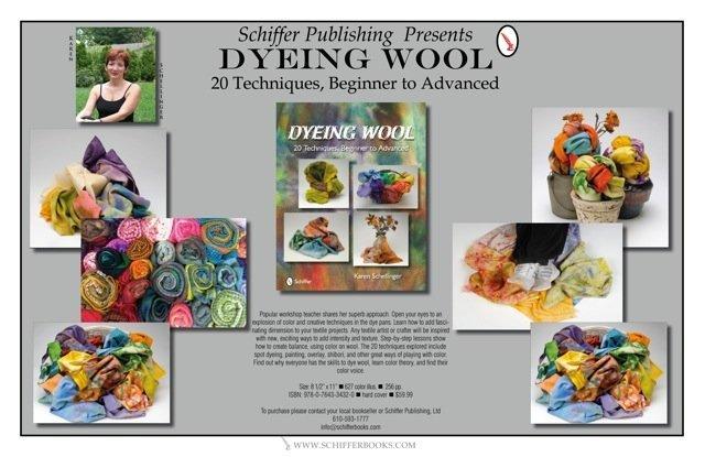 Dyeing Poster by Karen Schellinger