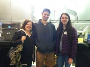 Bob, me and Alaina at CBS