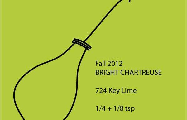 Fall 2012 rug hooking dye recipe for chartreuse