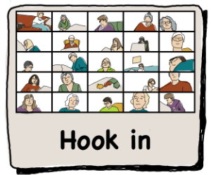 Weekly rug hook-in icon