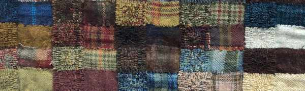 texture sampler, the key to understanding how textured wools are used in rug hooking