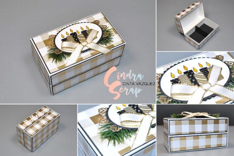 Boîte à bijoux Les Joies de l'Hiver