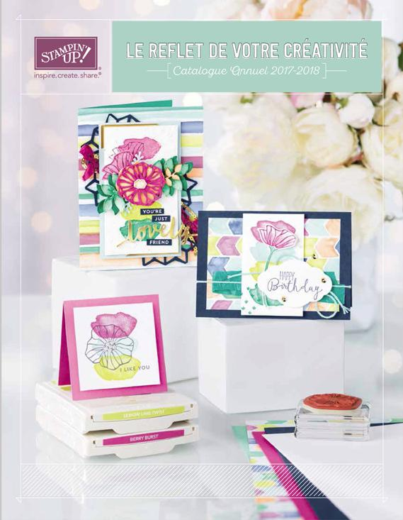 CATALOGUE ANNUEL STAMPIN'UP! 2017-2018