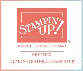 DEVENIR DÉMONSTRATRICE STAMPIN'UP!