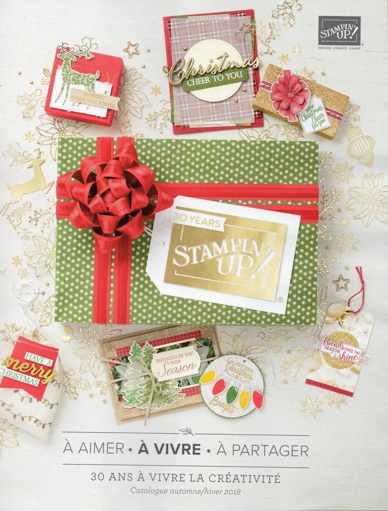 CATALOGUE AUTOMNE HIVER 2018-2019 STAMPIN'UP!