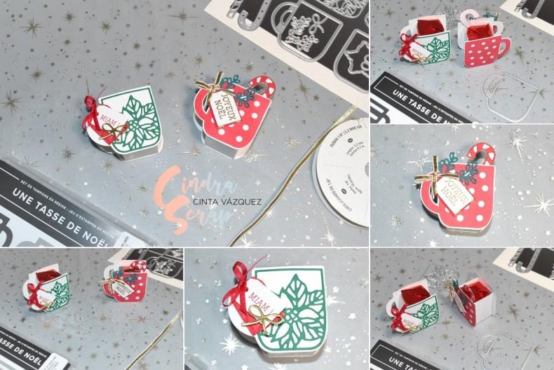 Porte friandises Une Tasse de Noël
