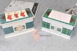 Coffres Magiques Cocon à Carreaux et Joie de Noël