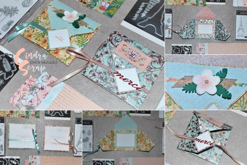 Carte enveloppe 2 en 1