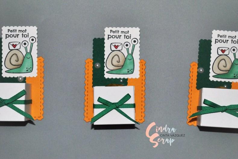 Porte chocolats Petit mot pour toi