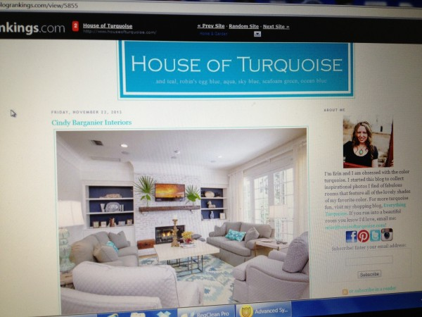 Cindy Barganier on House of Turquoise