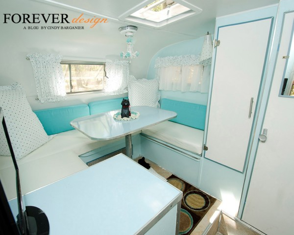 cindy barganier turquoise vintage camper