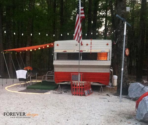 barganier does vintage camping