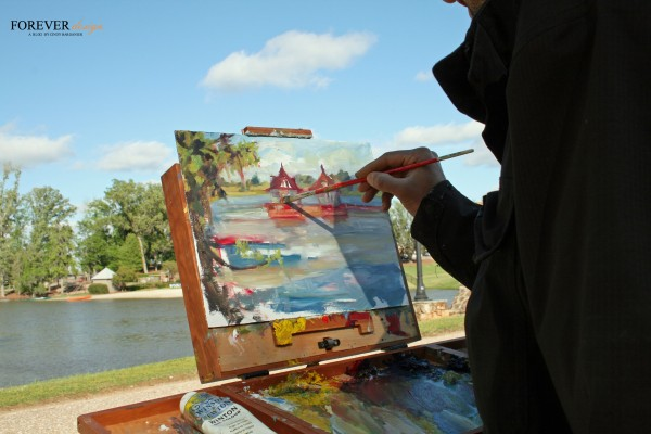 james sampsel paints the boathouse