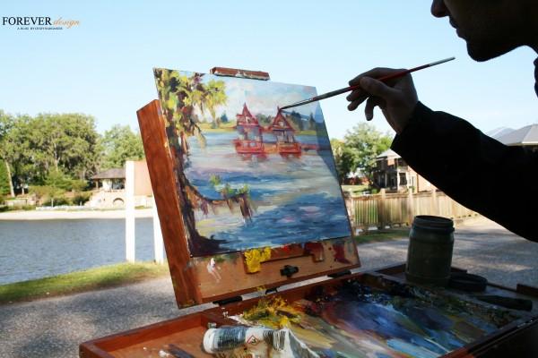 barganier plein air artist
