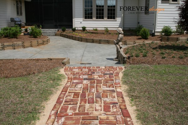 cindy barganier landscaping with designer wood